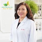 Tiến sĩ - bác sĩ da liễu Trần Ngọc Ánh