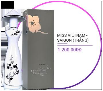 Nước hoa Miss Vietnam - Saigon sứ trắng N27