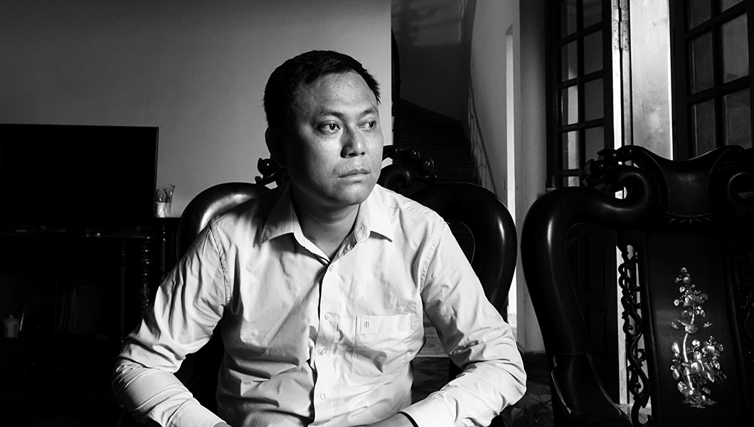 Anh Luân - người đã mất vợ trong vụ tai nạn xe khách ngày 1/9/2014 tại Sapa, Lào Cai.
