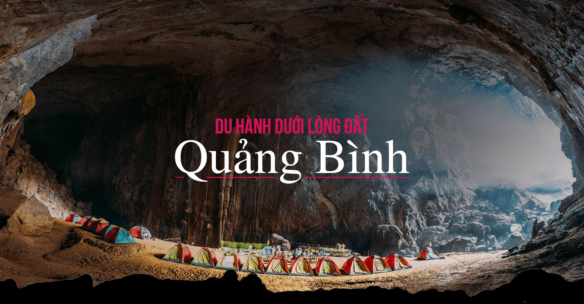 Du hành dưới lòng đất Quảng Bình